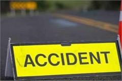 two brothers died in road accident in vaishali