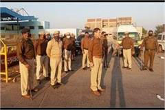 police administration was ready for farmers journey to delhi
