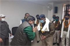 gwalior police stopped pradyuman tomar s car