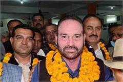 surendra lather became the head of karnal jat mahasabha