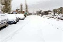 3 feet snowfall in shinkula pass