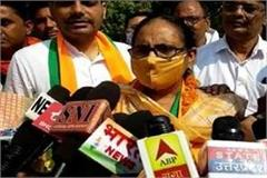 dixit administered oath to newly elected assembly member usha sirohi
