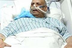 mahant nritya gopal das s condition critical kept on ventilator