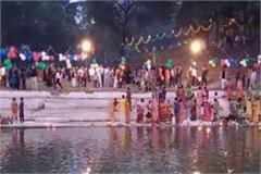 like bihar uttar pradesh chhath was celebrated in mp