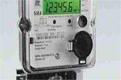 electricity meters running without galloping telling the readings of millions