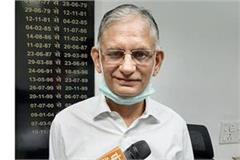 baldev raj said haryana is ahead of punjab in progress