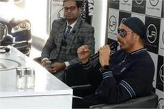 sukhbir said to shoot upcoming movie songs at luxury ride showroom in karnal
