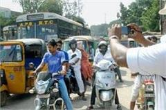 challans of 260 people ignoring traffic rules in lucknow