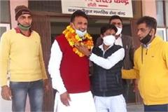 aap leader manoj rathi who was released on a bond of 15000