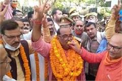 a wave of happiness in deoria after bjp formed nda government