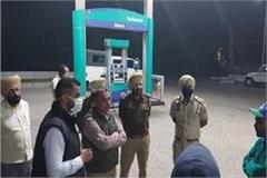 shot at petrol pump in nakodar a young man injured
