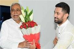 chirag tightened as soon as nitish was sworn in