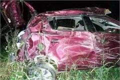 car accident in hamirpur