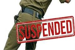 2 police personnel suspended