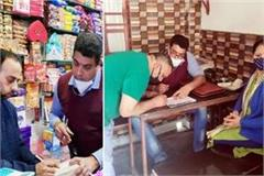 food and safety department raid on sweet shops