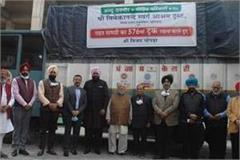 576th truck relief material for affected families