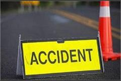 five killed in tractor and pickup van collision in kaimur