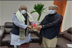 ecr general manager meets deputy cm