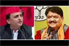 bjp s question to akhilesh why were administrators appointed on panchayats