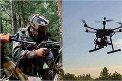 2 pakistani drones seen again on indo pak border