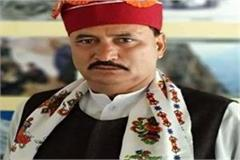 bhatiyat mla vikram jariyal turned out to be corona positive