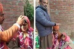 muslim girl married hindu boy in temple said i believe in hinduism