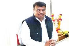congress mla umang singhar who arrived to meet the home minister