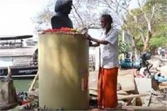 the person used to look after the statue of abdul kalam