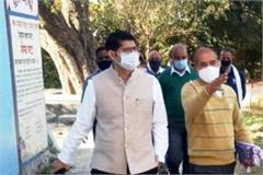 dc-raghav-sharma-inspects-various-development-works-in-gagret