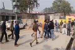 pen polling in polling booth bjp booth agent beat voter fiercely