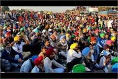 number of agitating farmers reached 25 30 thousand at sonipat singhu border