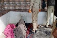 dead body found in rain shelter near tara devi temple