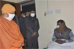 cm yogi inspected the night shelters asked the youth how did they come