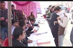 elections are being held at 5 polling stations