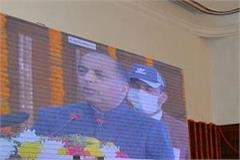 rajnath singh praised himachal government s three year achievements