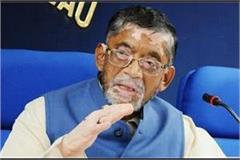 corona was hit by union minister santosh gangwar and his wife
