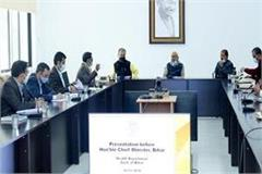 nitish kumar held review meeting of health department