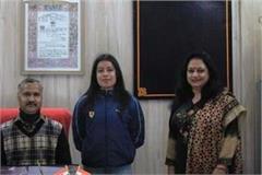 abhilasha bharmouri will take ota training in chennai