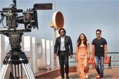 ravi kishan did a muhurat of bhojpuri film  ok hai  thanked cm yogi