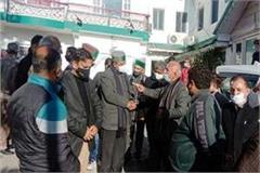 district and urban congress president got entangled in front of state president