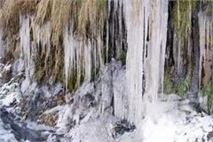 minus temperature in bharmaur