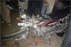 road accident husband wife child death