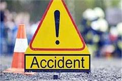 sunil jakhar s security officer collides with bike