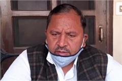 bishan lal saini targeted the government