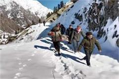 rural walked on 15 kilometers of snow after lifting the patient on stretcher