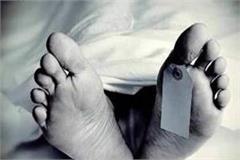 deadbody of youth found near jamta