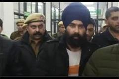 gangster dilpreet baba taken on production warrant by haryana police