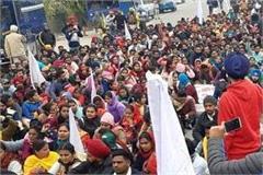 teachers protest against education minister singla