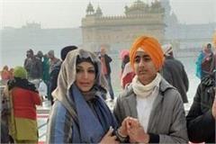 onali bendre visits amritsar s golden temple on birthday