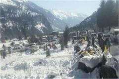 rain showers in punjab snowfall uttarakhand katra water frozen